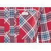 Lundhags Jaksa overhemd en blouse lange mouwen Dames rood/blauw